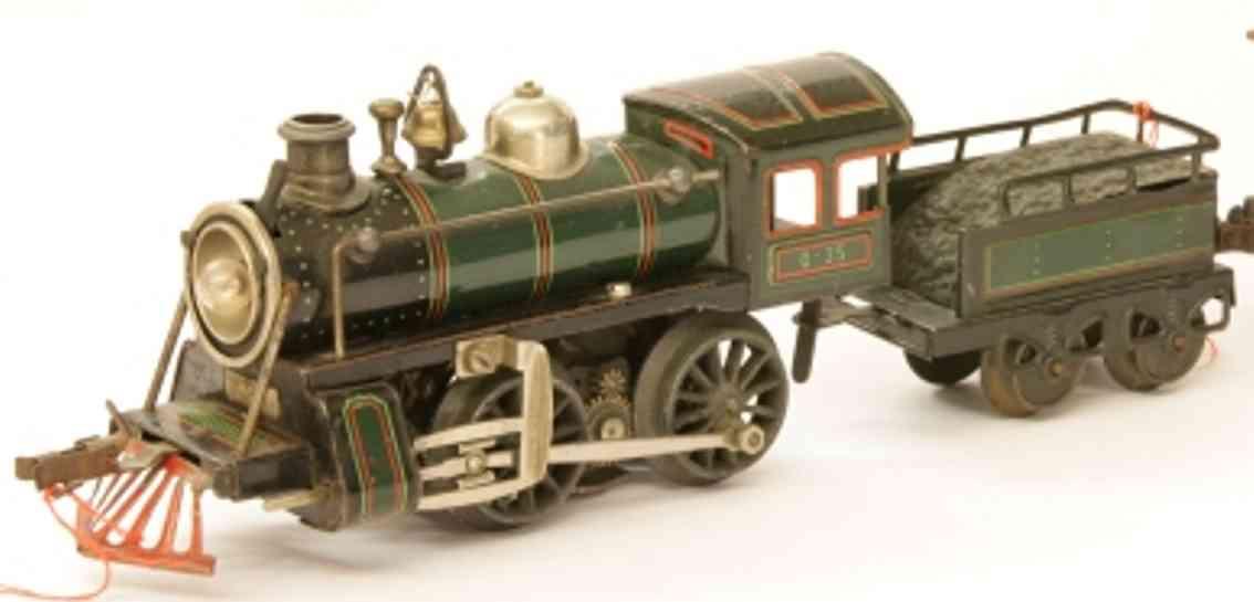 bub 2710 lt spielzeug eisenbahn starkstrom-schlepptenderlokomotive spur 0