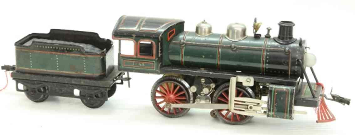 bub 2753 lt spielzeug eisenbahn starkstromdampflokomotive spur 1