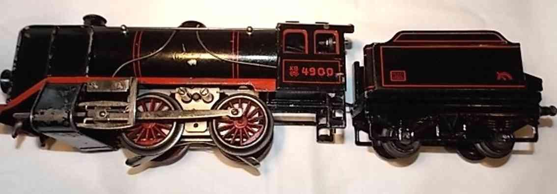 bub 4900 spielzeug eisenbahn uhrwerk-dampflokomotive spur 0