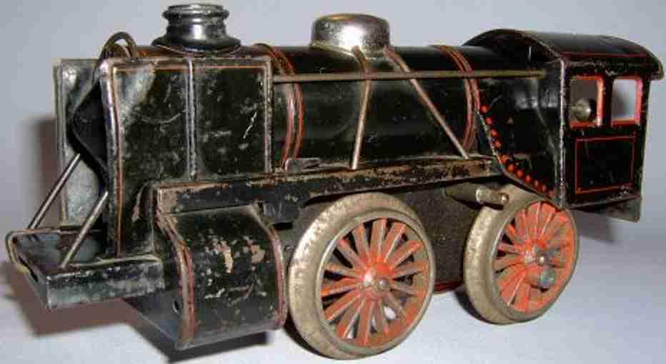 bub 561 lt railway toy engine clockwork steam locomotive gauge 1