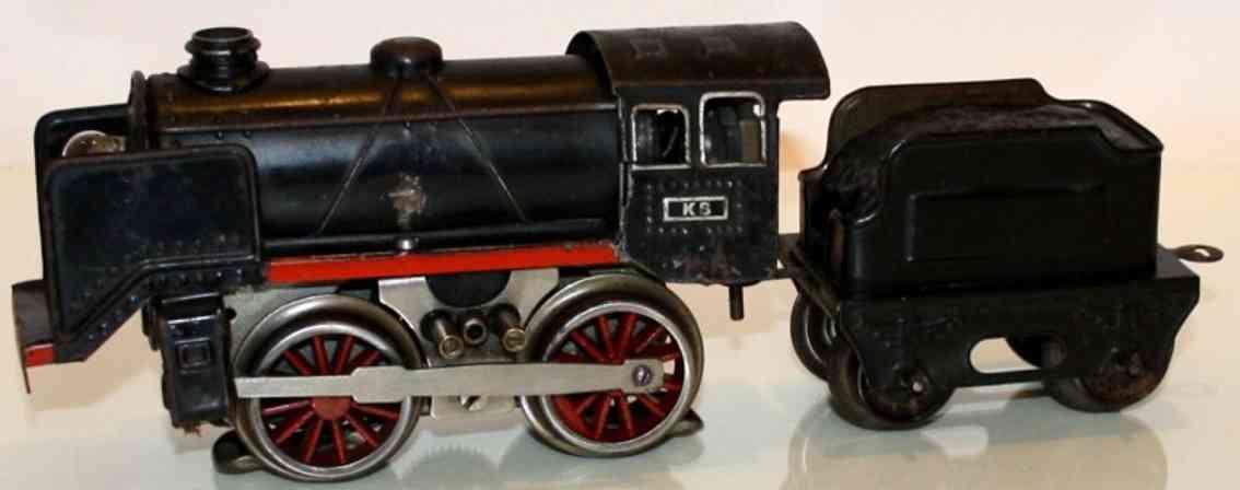 bub 8230/18 spielzeug eisenbahn 18 volt dampflokomotive schwarz spur 0