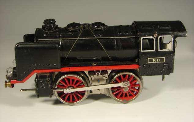bub 8470/18 railway toy engine 18 volts steam locomotive gauge 0