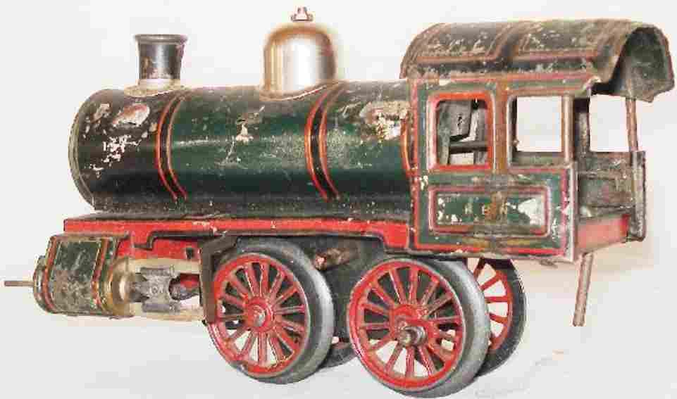 bub 902 railway toy engine clockwork steam locomotive gauge 0