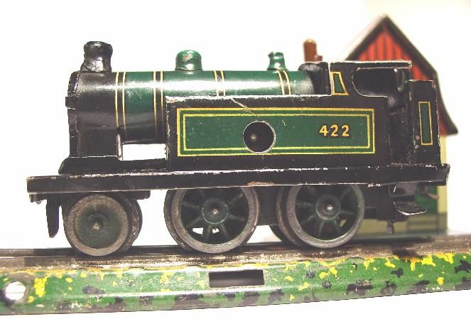 bub 923/1 railway toy engine clockwork-locomotive table railroad gauge 00