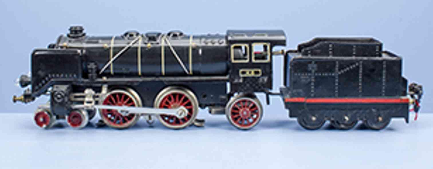karl bub 9770/18 railway toy engine 18 volt steam locomotive gauge 0