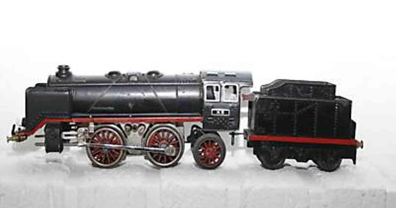 bub 9970/18 railway toy engine 18 volts steam locomotive gauge 0