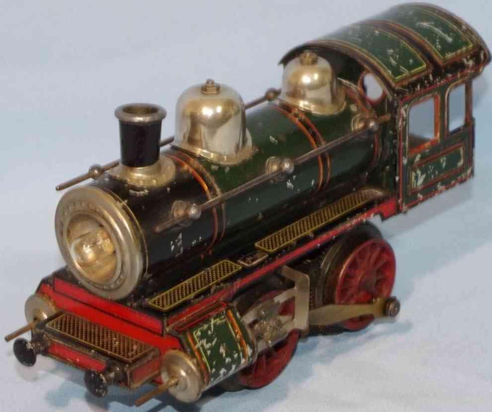 bub pielzeug eisenbahn dampflokomotive elektrischer antrieb spur 0
