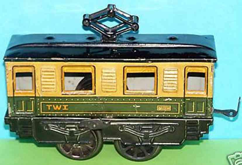 bub railway toy engine electric locomotive with clockwork gauge 0