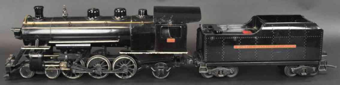 buddy l 1000 eisenbahn lokomotive mit tender outdoor