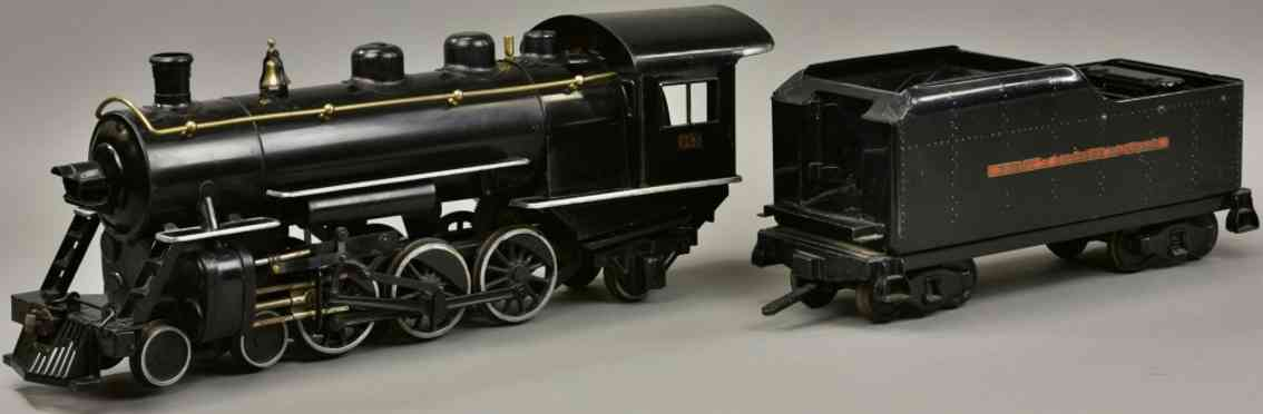 buddy l 963 spielzeug eisenbahn lokomotive tender schwarz outdoor series