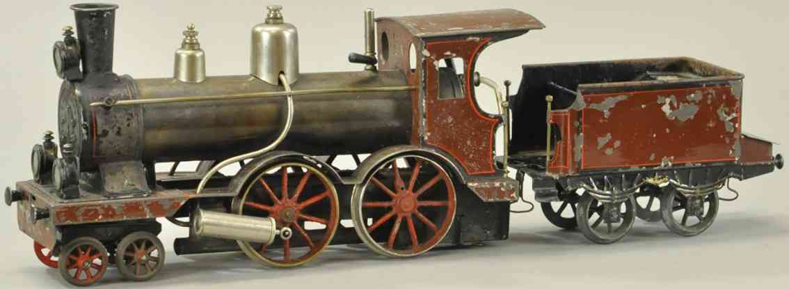 carette spielzeug eisenbahn damplokomotive mit tender spur 2