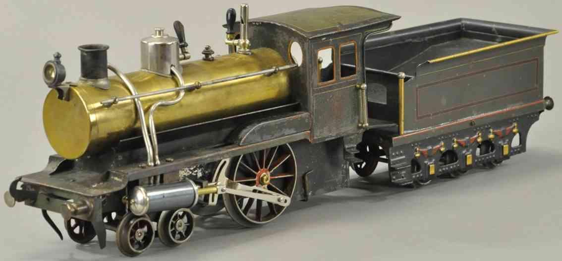 carette spielzeug eisenbahn lokomotive und tender spur 3