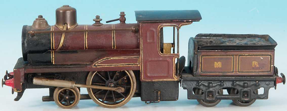 Carette Spiritusdampflokomotive