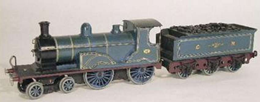 Carette Dampflokomotive