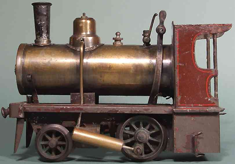 Carette Echtdampflokomotive
