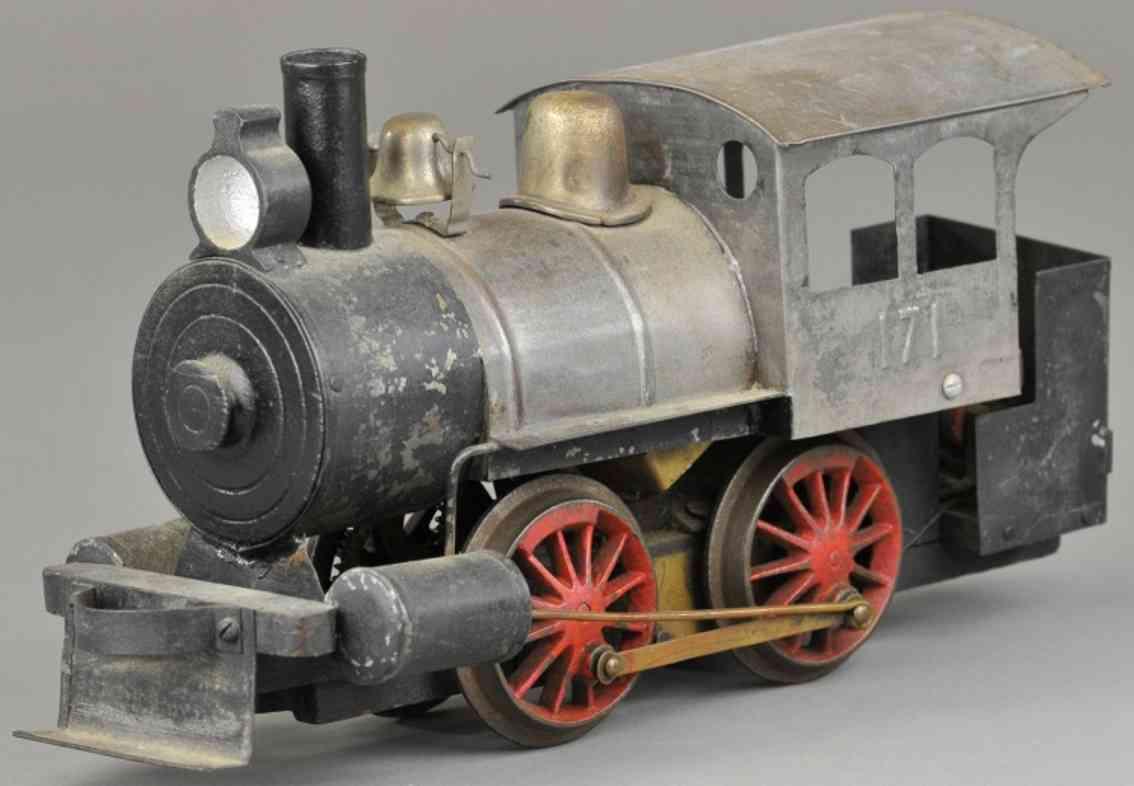 carlisle & finch 20 splzeug eisenbahn rangierlokomotive nickel schwarz spur 2 inches
