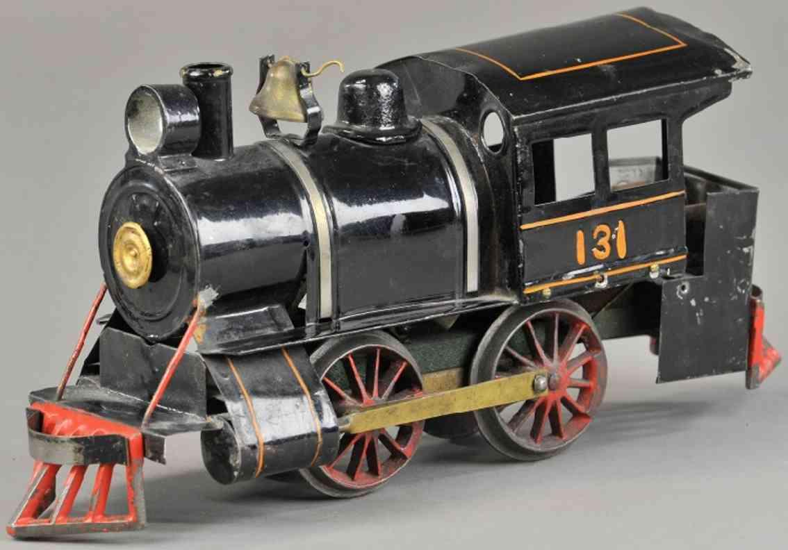 carlisle & finch 20 131 spielzeug eisenbahn dampflokomotive schwarz