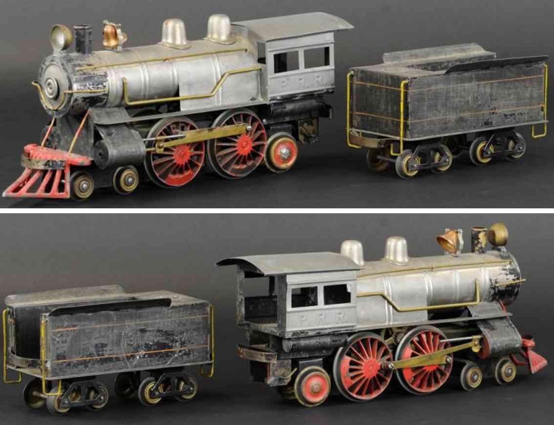 carlisle & finch spielzeug eisenbahn lokomotive 34 und tender 131