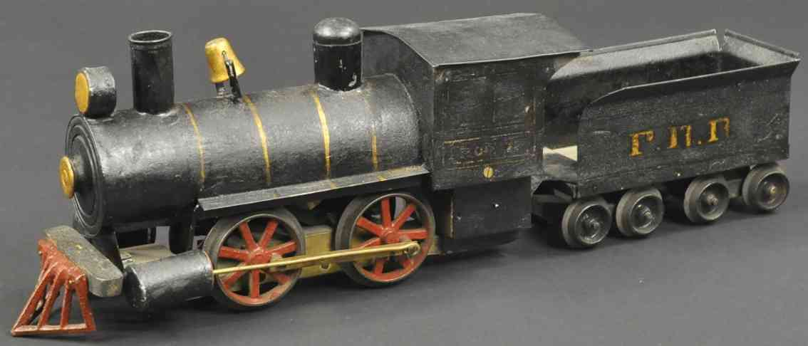 carlisle & finch 4 spielzeug eisenbahn lokomotive 70874 tender prr
