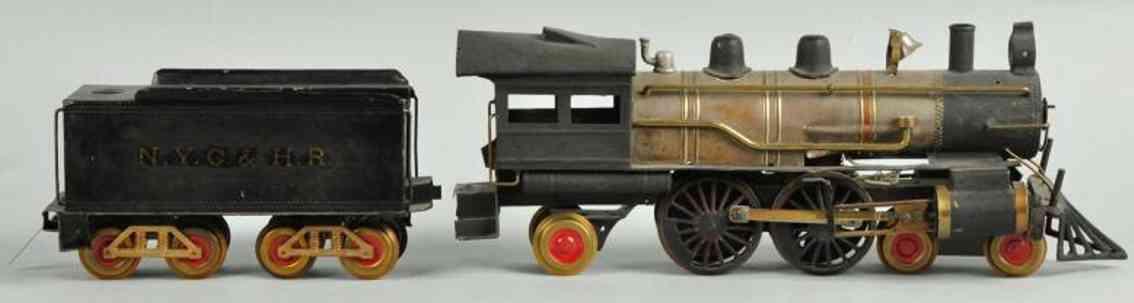 carlisle & finch 45 spielzeug eisenbahn lokomotive tender standard gauge wide