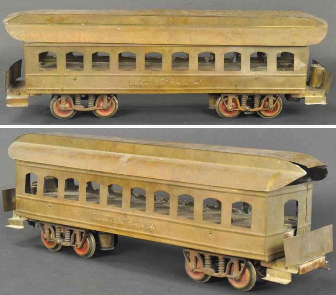 carlisle & finch railway toy engine electric railway interurban
