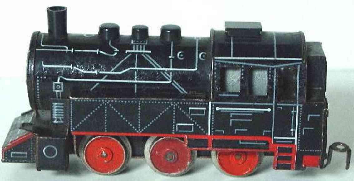 distler,johann 505l spielzeug eisenbahn lokomotive br 80 in schwarz spur h0