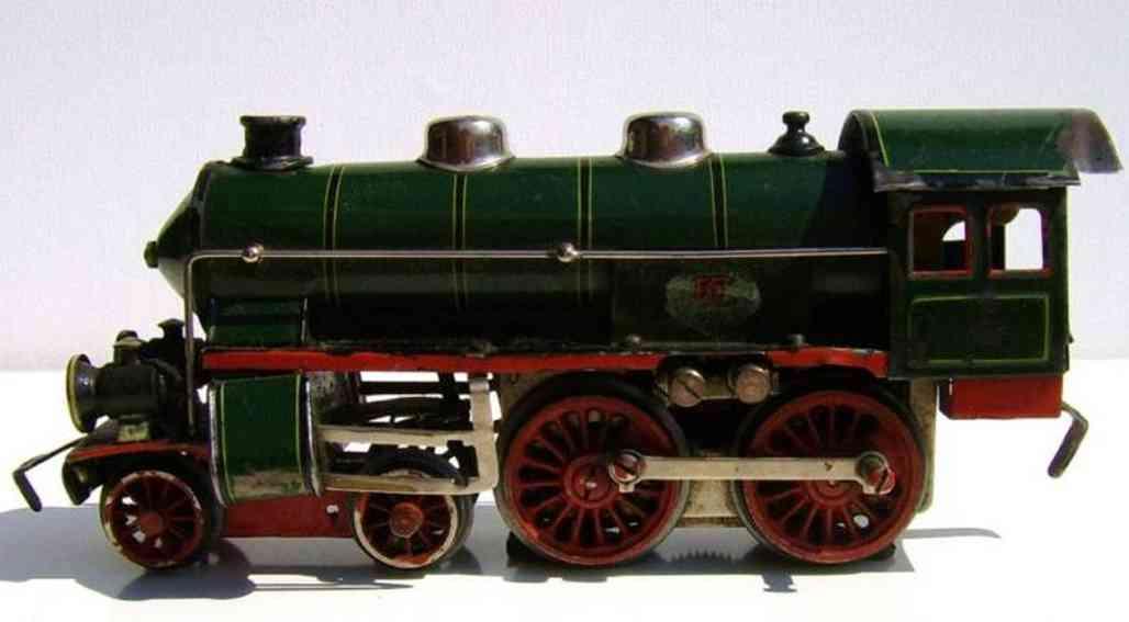 doll 4/501 elektro-dampflokomotive spur 0