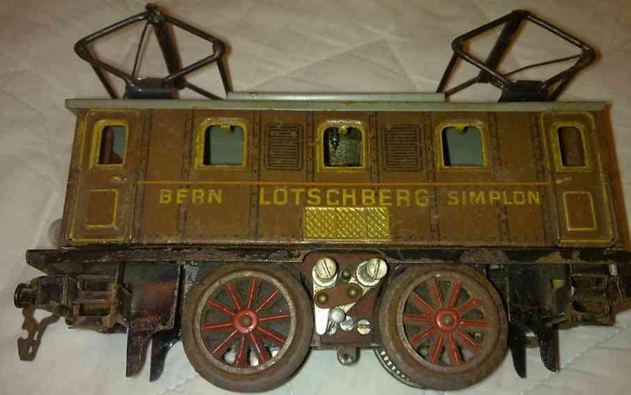 doll 4/720/0 spielzeug eisenbahn 20 volt triebwagen spur 0