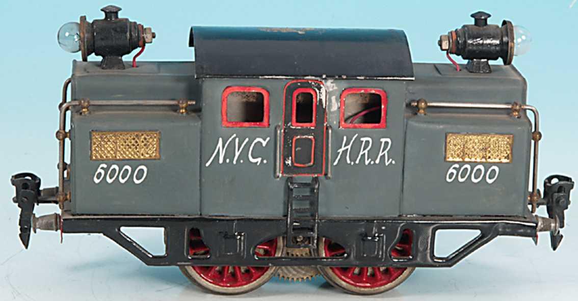 doll 4/722/0 spielzeug eisenbahn amerikanische tunnellokomotive new-york-central