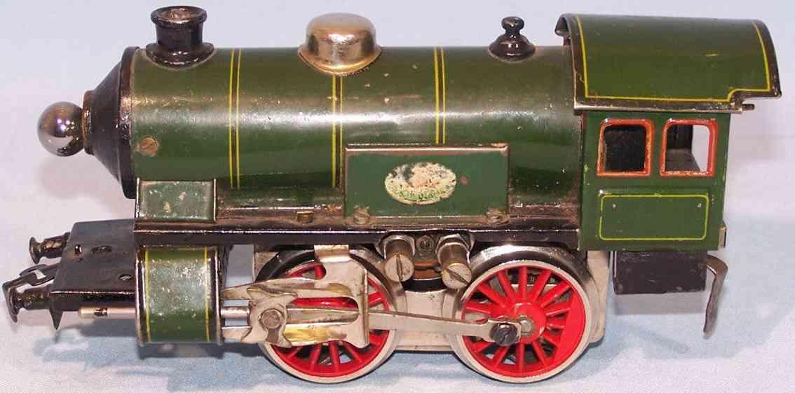 doll 4/450 spielzeug eisenbahn dampflokomotive