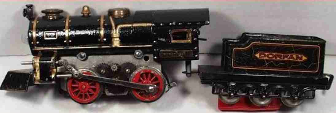 dorfan railway toy clockwork locomotive engine