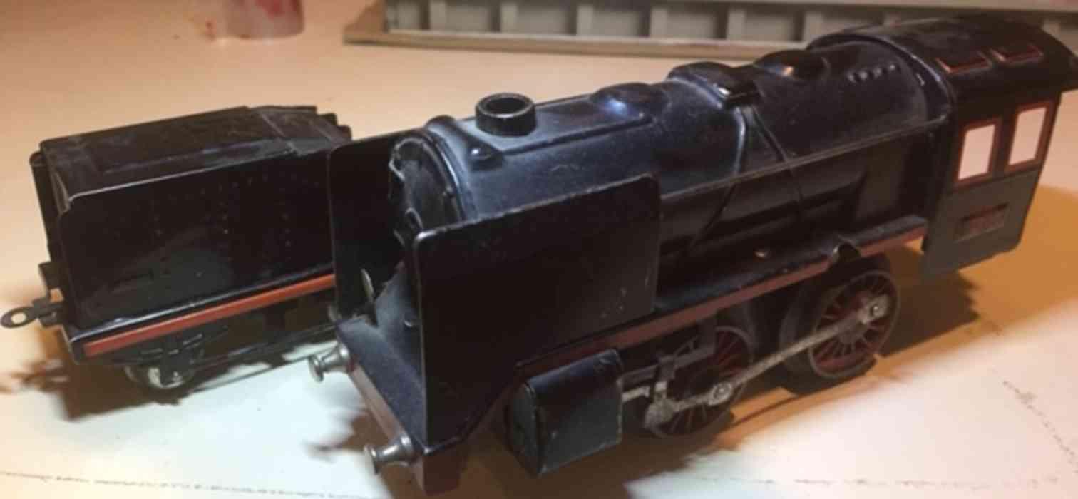 dressler konrad spielzeug eisenbahn schlepptenderlokomotive uhrwerk spur 0