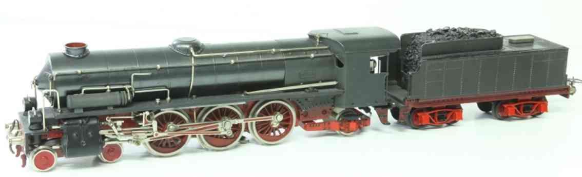 elettren 0691 spielzeug eisenbahn lokomotive 20 volt schlepptenderlokomotive 2'c1' mit 4-achsigem tender,