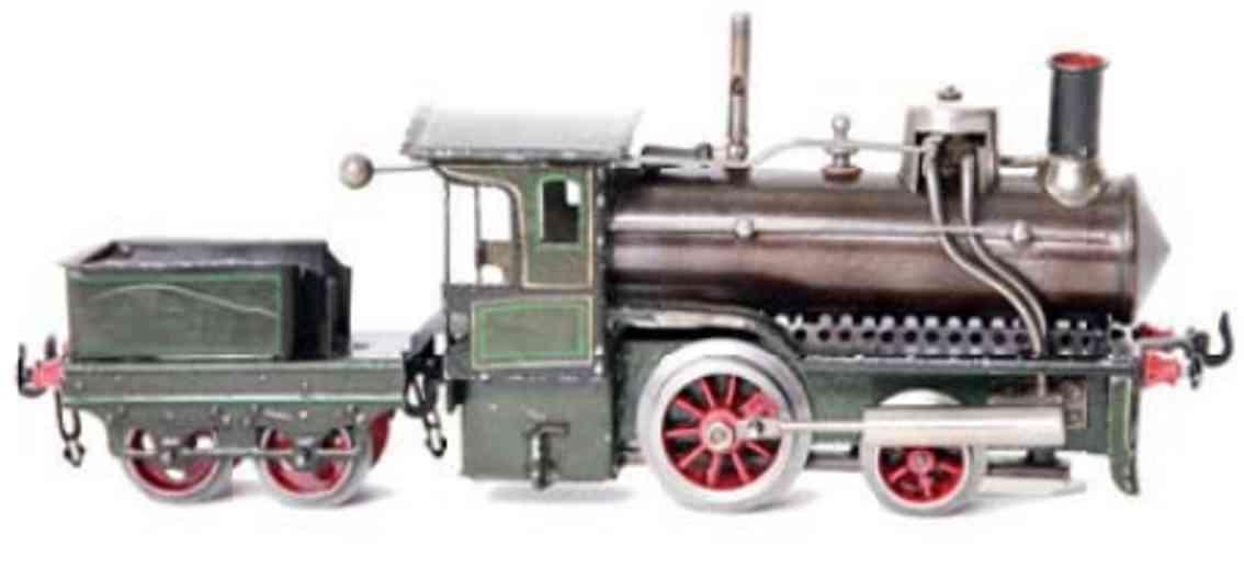 falk 116 R railway toy engine spirit steam locomotiv green gauge 0