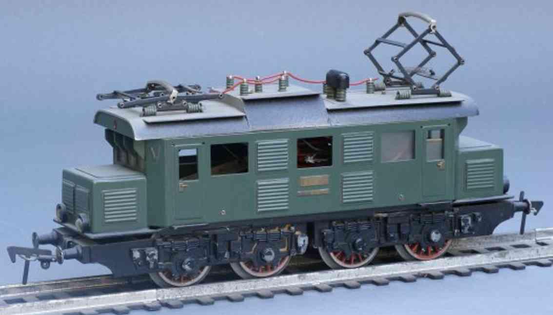 fleischmann e 44 spielzeug eisenbahn lokomotive handmuster spur 0