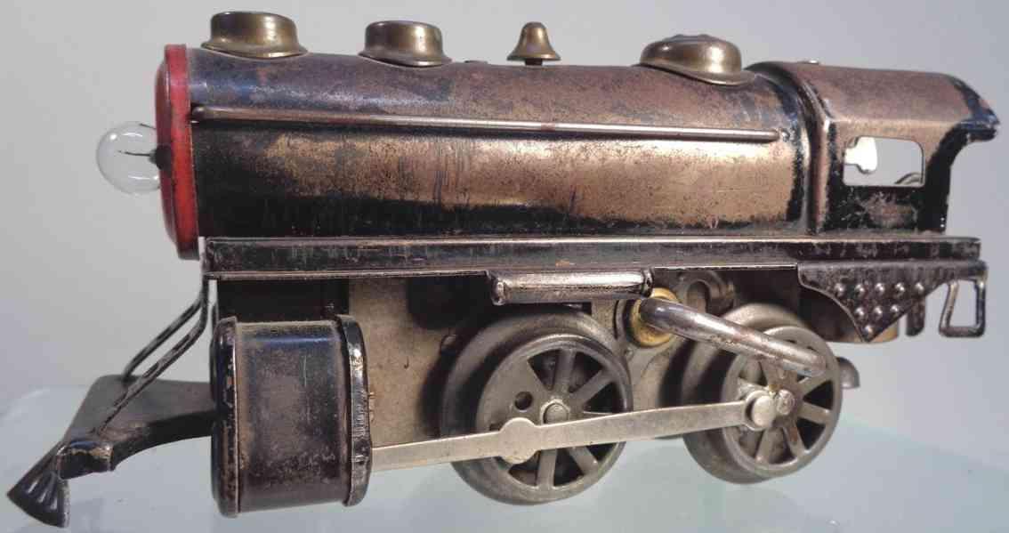 hafner railway toy engine steam locomotive overland century of progress gauge 0