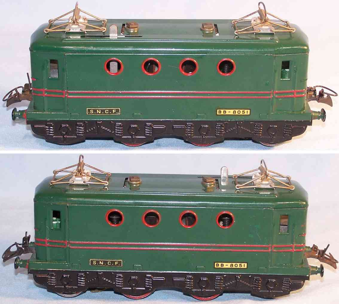 hornby BB-8051 railway toy engine sncf electric locomotive