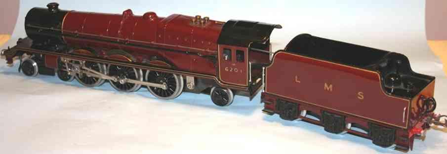 hornby spielzeug eisenbahn lokomotive schnellzuglokomotive princess elizabeth 2c1 in den farben de