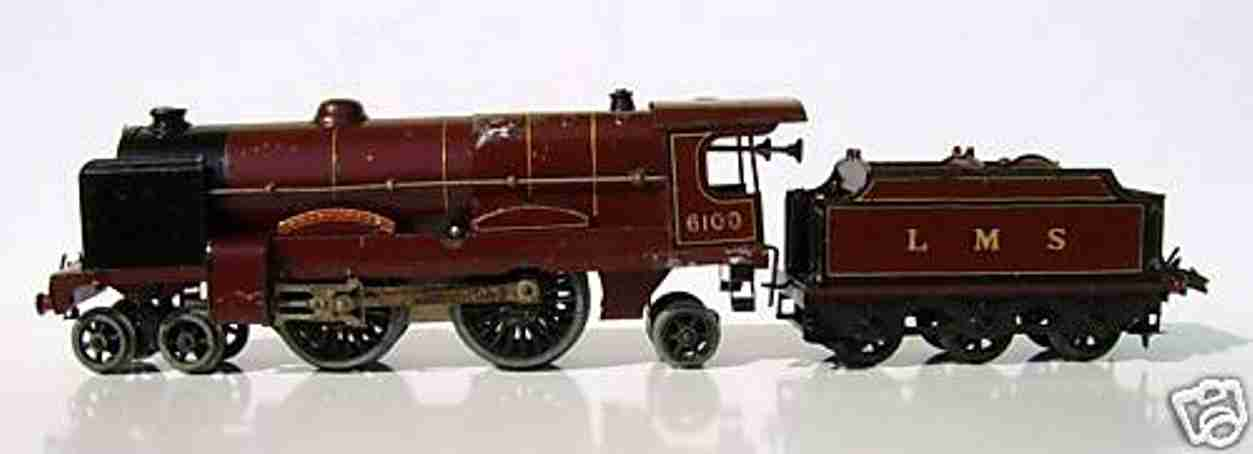 hornby railway toy engine royal scot with clockwork