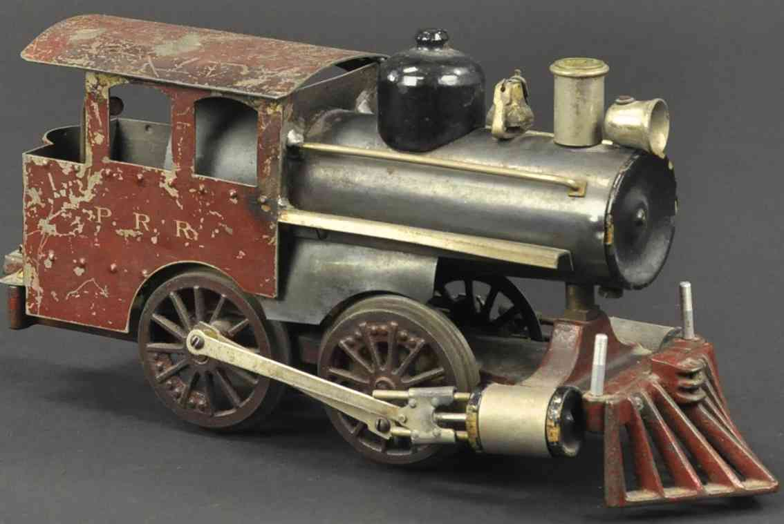 howard electric novelty company 6 prr lokomotive braun spur 2 inches
