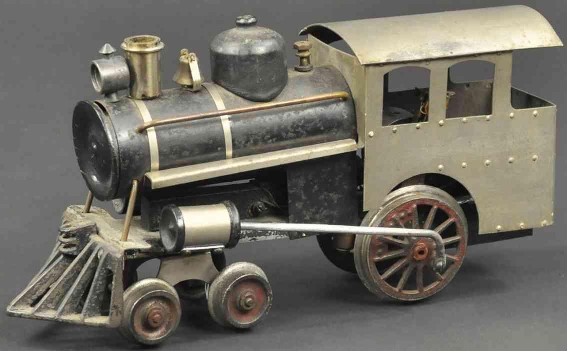 howard electric novelty company dampflokomotive angehaengter tender