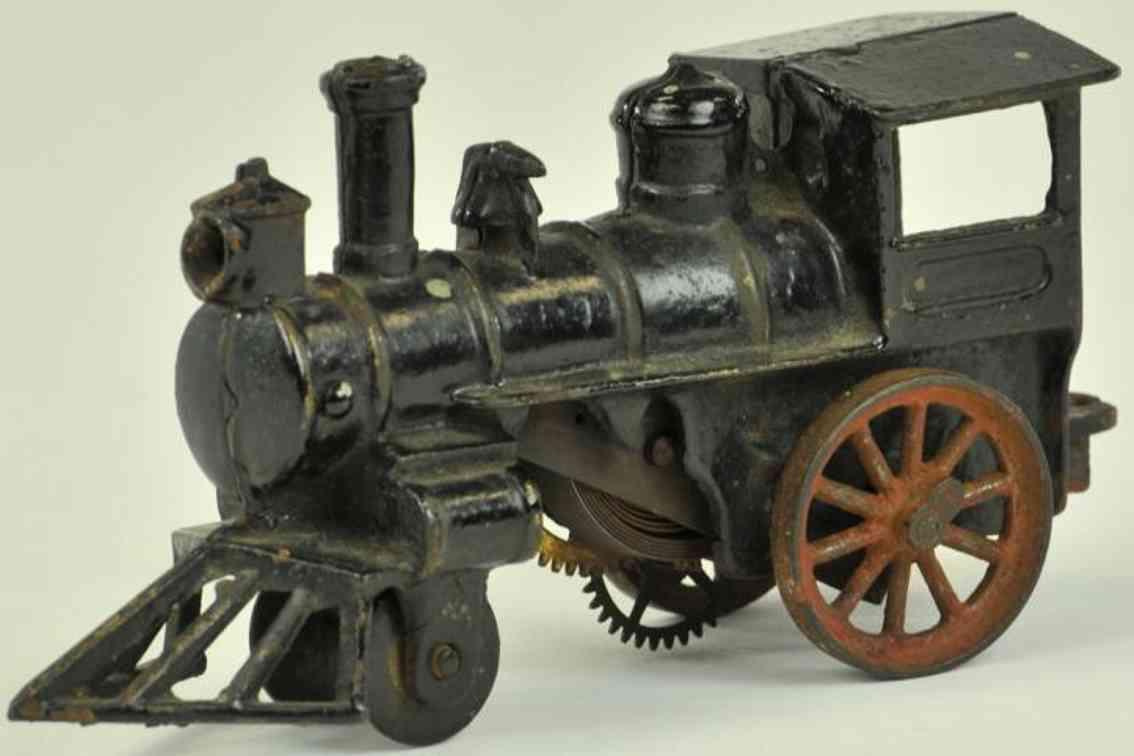 hubley spielzeug eisenbahn uhrwerklokomotive