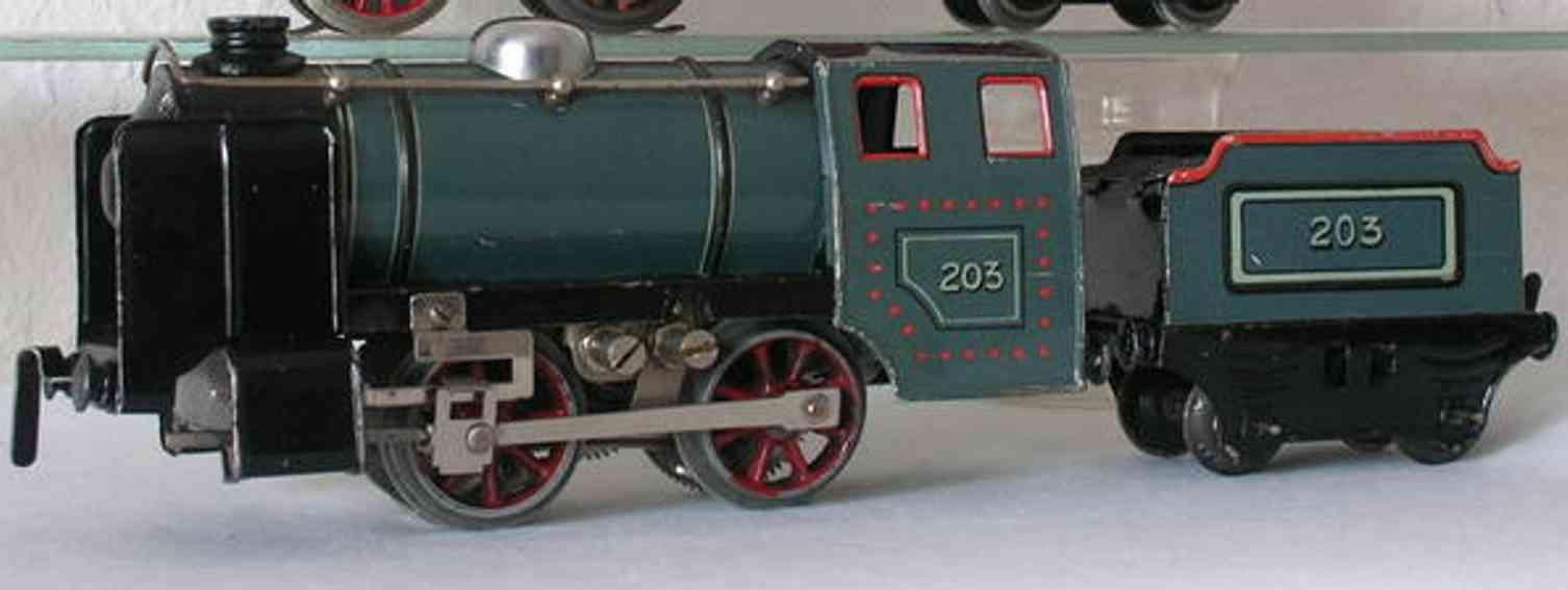 husch 2031 spielzeug eisenbahn lokomotive 20 volt lokmotive mit handumschaltung, der hebel befindet si