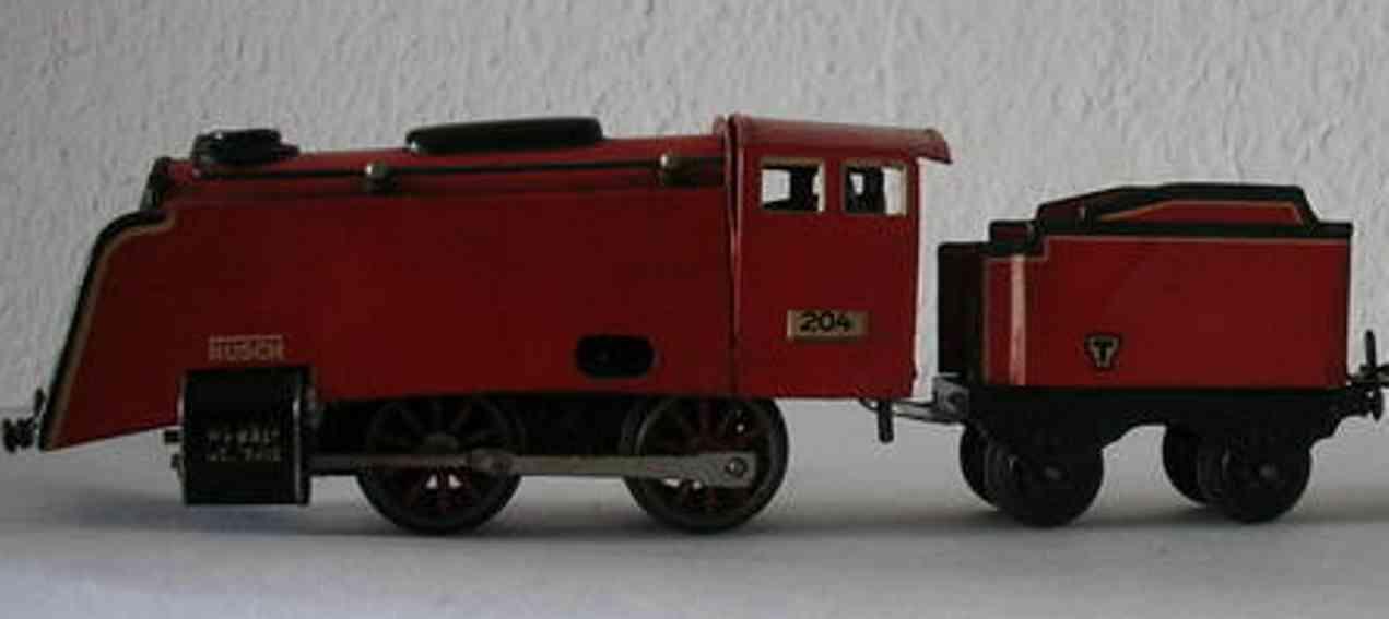 husch 204 spielzeug eisenbahn lokomotive lokomotive mit tender