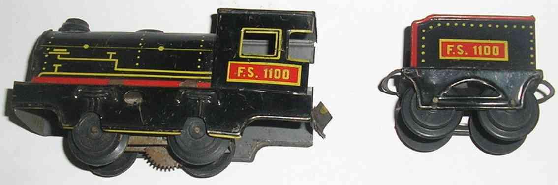 Ingap 1100 Lokomotive mit Tender