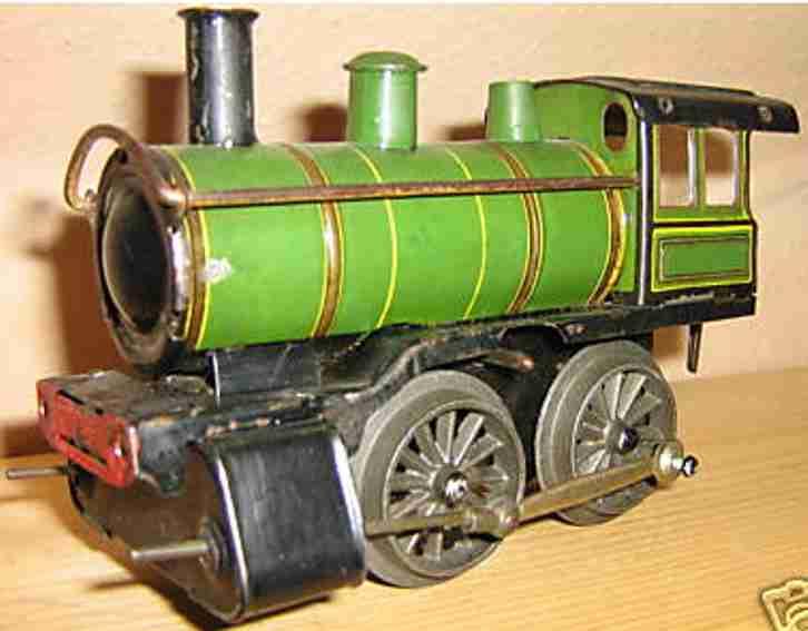 Issmayer Uhrwerk-Dampflokomotive