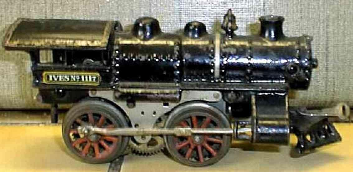 ives 1117 1914 pielzeug eisenbahn dampflokomotive spur 0