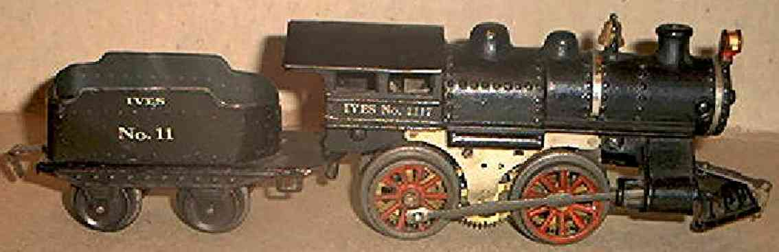 ives 1117 1916 pielzeug eisenbahn dampflokomotive spur 0