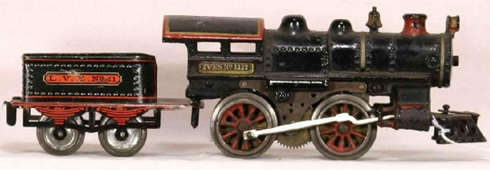 ives 1117 1912 pielzeug eisenbahn dampflokomotive spur 0
