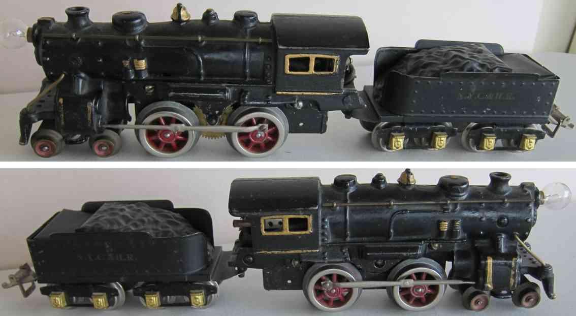 ives 1120R spielzeug eisenbahn dampflokomotive aus gusseisen spur 0
